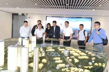 张国标董事长率队访问中国南山集团